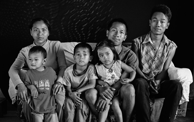 Burmese refugees in Kathmandu, Nepal