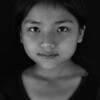 A girl from the Chin community in Myanmar