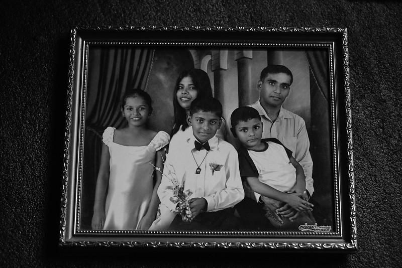 Rashmi with her family