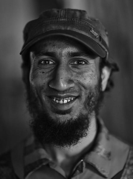 Rohingya Refugee living in Kathmandu, Nepal.