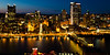 View of Pittsburgh's Golden Triangle from across the Monongahela River. Pittsburgh, PA<br /> <br /> PA-120625-0001