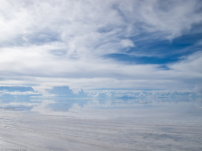 Where do the salt flats end and the sky begin ?