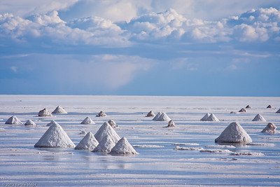 other world - Salt pyramids - ready for pickup.