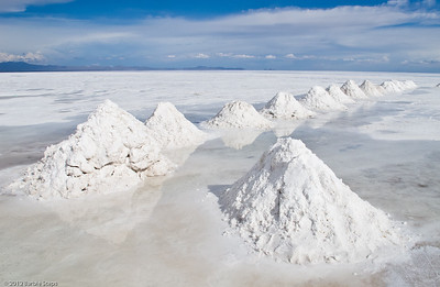 Piles of Salt.