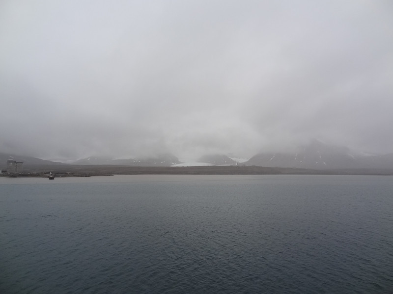 DSC02346 Ship is approaching Ny Alesund (Spitsbergen) Norway<br /> Northernmost Norway