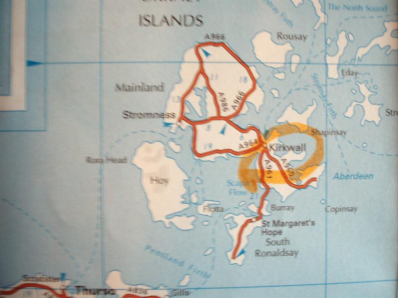 KIRWALL MAP