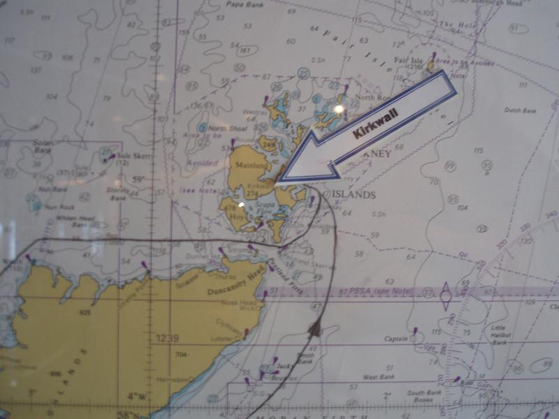 KIRKWALL WALL MAP