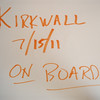 id KIRKWALL ON BOARD SHIP