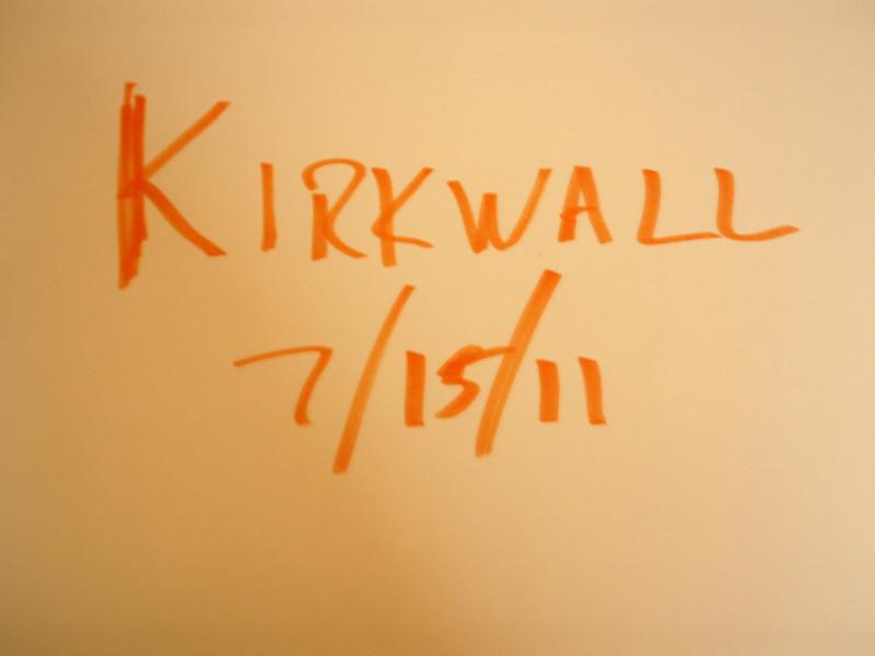 kirkwall 7/15/11