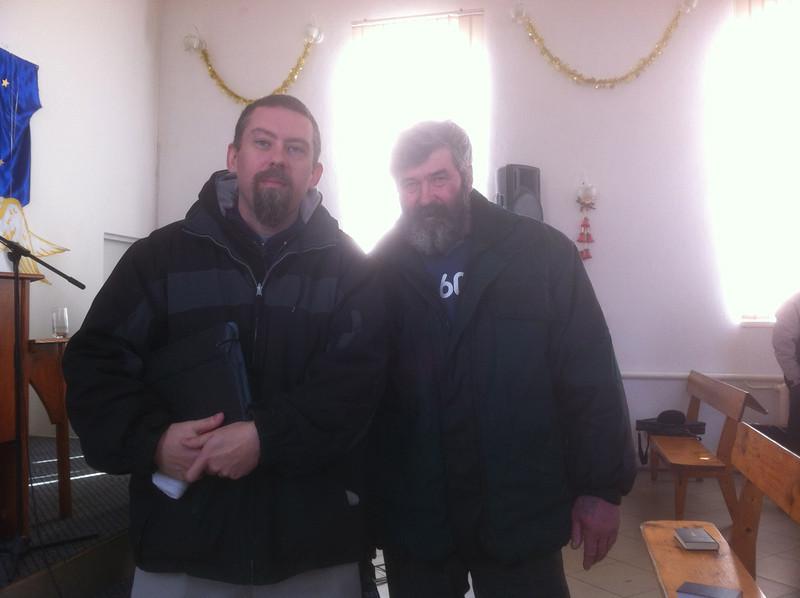 A man I met in Gotesti named John.