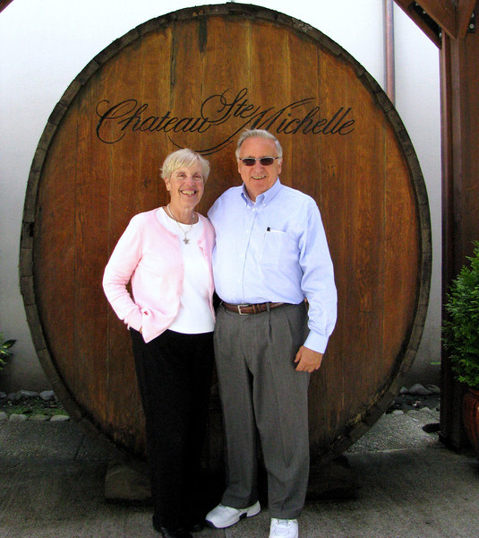 Chateau Ste Michelle in Woodinville