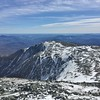Boott Spur from the top of Tuckerman Ravine Trail