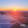 Blowing Snow at Sunrise