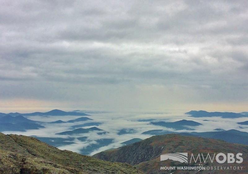 Fog In The Mount Washington Valley
