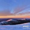 Northern Peaks at Sunset