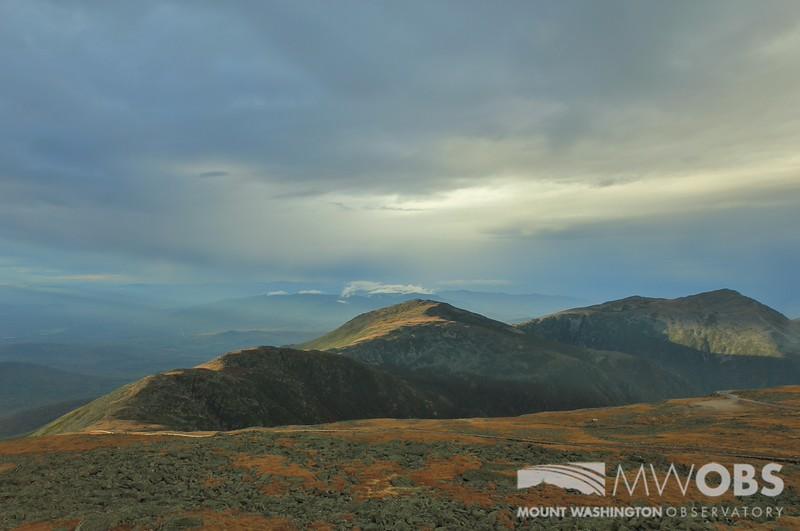 Late Light on the Northern Peaks; 28 Sept 2015