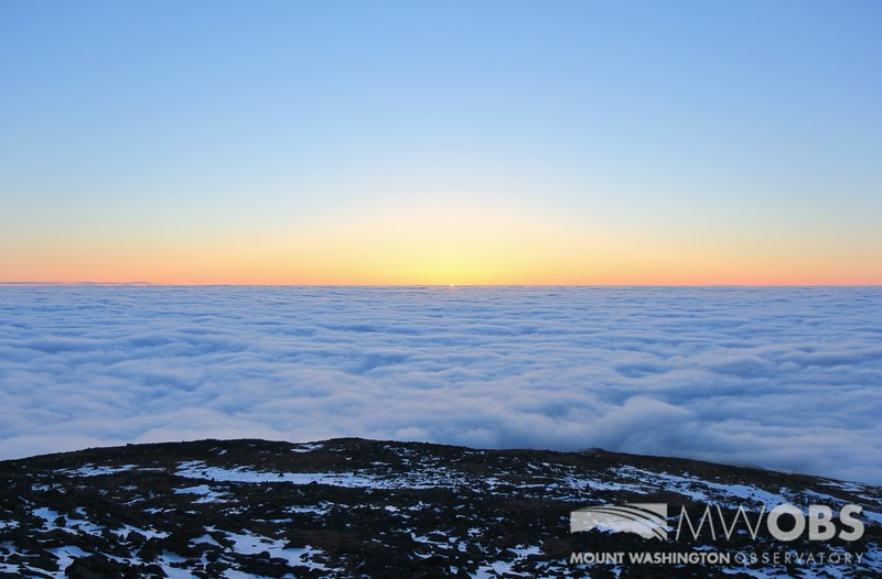 Undercast at Sunset, 3 May 2016