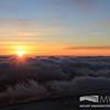 Undercast at sunrise 26 November 2015