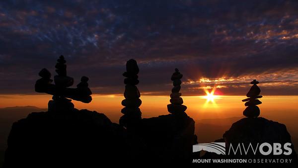 A moment of zen during a summer sunset.