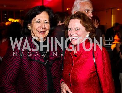 Ann Jordan, Elizabeth Stevens. 10th Annual Vital Voices Global Leadership Awards. Photo by Tony Powell. The Kennedy Center. April 12, 2011