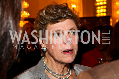 Cokie Roberts. 10th Annual Vital Voices Global Leadership Awards. Photo by Tony Powell. The Kennedy Center. April 12, 2011