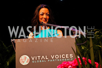 2011 Honoree Noha Khatieb. 10th Annual Vital Voices Global Leadership Awards. Photo by Tony Powell. The Kennedy Center. April 12, 2011