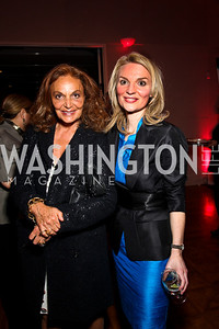 Diane von Furstenberg, Alyse Nelson. 10th Annual Vital Voices Global Leadership Awards. Photo by Tony Powell. The Kennedy Center. April 12, 2011