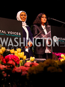 2011 Honoree Fatema Akbari. 10th Annual Vital Voices Global Leadership Awards. Photo by Tony Powell. The Kennedy Center. April 12, 2011