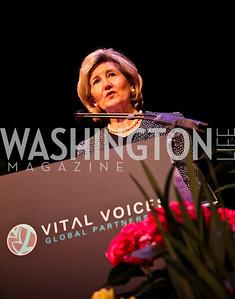 Senator Kay Bailey Hutchison. 10th Annual Vital Voices Global Leadership Awards. Photo by Tony Powell. The Kennedy Center. April 12, 2011