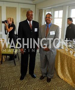 Charles McClam,Gary Galloway,Vivek Kundra Goodbye  Reception at the Hay-Adams,August 16,2011,Kyle Samperton