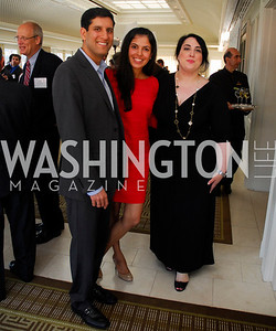 Vivek Kundra,Sapna Kundra,Goldy Kamali,Vivek Kundra Goodbye  Reception at the Hay-Adams,August 16,2011,Kyle Samperton