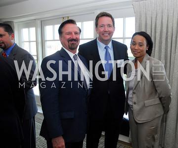 Jim Maas,Steve VanRoekel,Adrienne Walker,Vivek Kundra Goodbye  Reception at the Hay-Adams,August 16,2011,Kyle Samperton