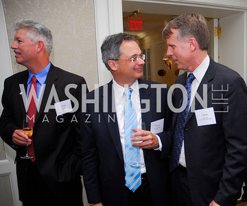 Bob Petti,Frank Baitman,Chris Vein,Vivek Kundra Goodbye  Reception at the Hay-Adams,August 16,2011,Kyle Samperton