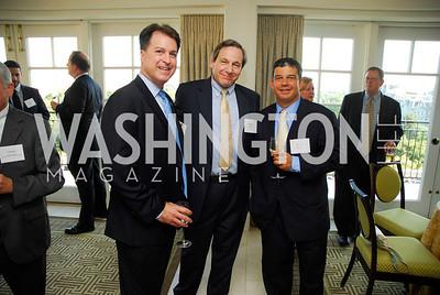 Curt Kolcun,Mark Cohn,Greg Myers,Vivek Kundra Goodbye  Reception at the Hay-Adams,August 16,2011,Kyle Samperton