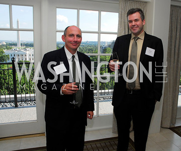 Tom Conway,Patrick Sullivan,Vivek Kundra Goodbye  Reception at the Hay-Adams,August 16,2011,Kyle Samperton