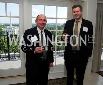 Tom Conway,Patrick Sullivan,Vivek Kundra Goodbye  Reception at the Hay-Adams,August 16,2011,Kyle Samperton
