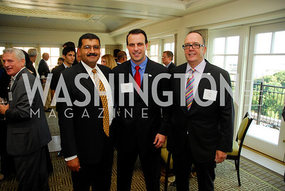 Mohamed Elrefai,Greg Clifton,Nigel Balllard,Vivek Kundra Goodbye  Reception at the Hay-Adams,August 16,2011,Kyle Samperton
