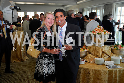 Erika Miller,Mark Bryant,Vivek Kundra Goodbye  Reception at the Hay-Adams,August 16,2011,Kyle Samperton
