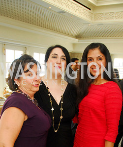 Martha Dorris,Goldy Kamali,Sapna Kundra Goodbye  Reception at the Hay-Adams,August 16,2011,Kyle Samperton