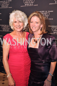 Diane Rehm, Charlotte Taylor, WAMU NPR 50th Anniversary Gala at Building Museum