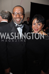 Kojo, Nnamdi, Sheila, Johnson, WAMU NPR 50th Anniversary Gala at Building Museum