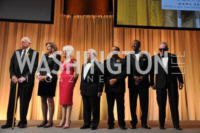 Founders, George, Geesey, Susan, Harmon, Diane, Rehm, Fred, Fiske, Russell, Williams, Judge, Gerald, Bruce, Lee, Walker,  WAMU NPR 50th Anniversary Gala at Building Museum