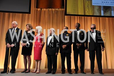Founders, George, Geesey, Susan, Harmon, Diane, Rehm, Fred, Fiske, Russell, Williams, Judge, Gerald, Bruce, Lee, Walker,  WAMU NPR 50th Anniversary Gala at Building Museum