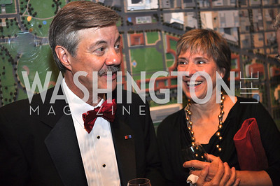 Ron and Belle Elving, WAMU NPR 50th Anniversary Gala at Building Museum