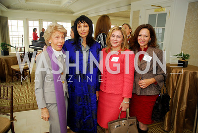 Ina Ginsburg,Rohini Talalla,Cidalia Akbar,Natalia Montiero,February 1,2011,WNO Luncheon,Kyle Samperton