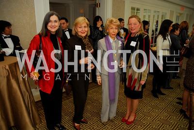 Marsha LeBeouf,Evelyn DiBona,Ina Ginsburg,Ellen Noghes,February 1,2011,WNO Luncheon,Kyle Samperton