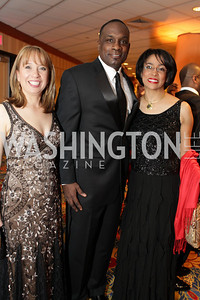 Wendy Thompson-Marquez, Horace Fauntleroy Jr, Lauren C. Vaughn. Washington Performing Arts Society Annual Gala and Auction at Marriott Wardman Park Hotel. Photo by Alfredo Flores. April 2, 2011