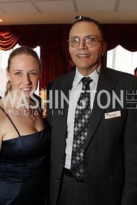 Carolyn Burke, Michael Syphax. Washington Performing Arts Society Annual Gala and Auction at Marriott Wardman Park Hotel. Photo by Alfredo Flores. April 2, 2011