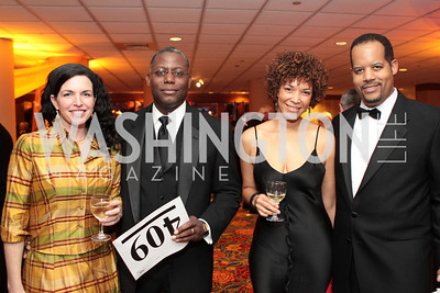 Veronica Jones, Jake Jones, Traci Rigaud, Eric Rigaud. Washington Performing Arts Society Annual Gala and Auction at Marriott Wardman Park Hotel. Photo by Alfredo Flores. April 2, 2011