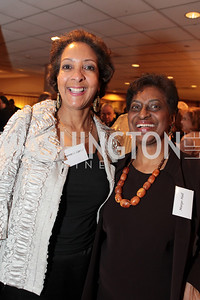 Laurenda Carter, Margo Hall. Washington Performing Arts Society Annual Gala and Auction at Marriott Wardman Park Hotel. Photo by Alfredo Flores. April 2, 2011